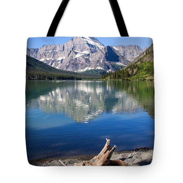 Mt Gould Reflections Tote Bag by Jack Bell