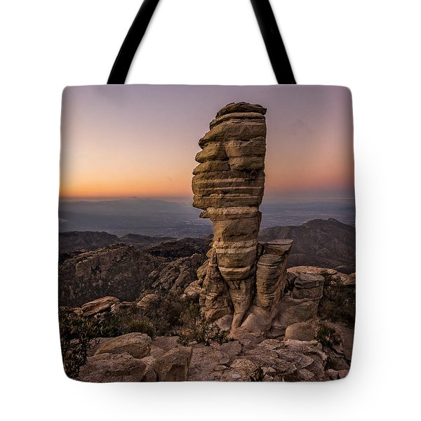 Mt. Lemmon Hoodoo Tote Bag