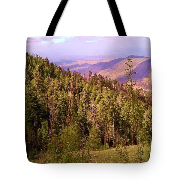 Mt. Lemmon Vista Tote Bag
