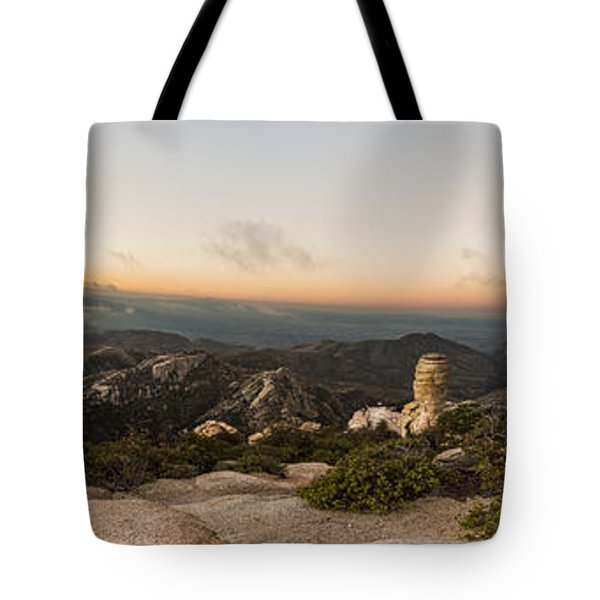 Mt. Lemmon Windy Point Panorama Tote Bag