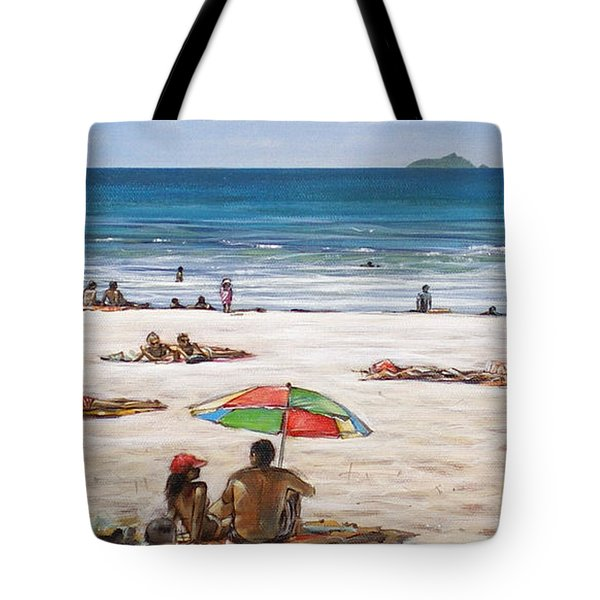 Mt Maunganui Beach 090209 Tote Bag