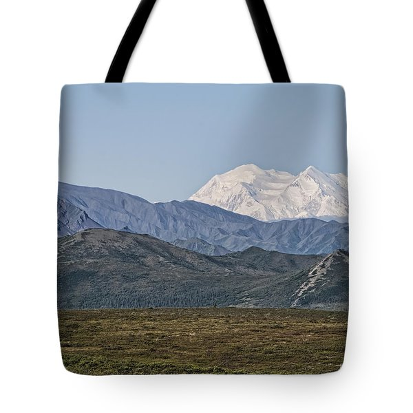 Mt. Mckinley Aka Denali Tote Bag