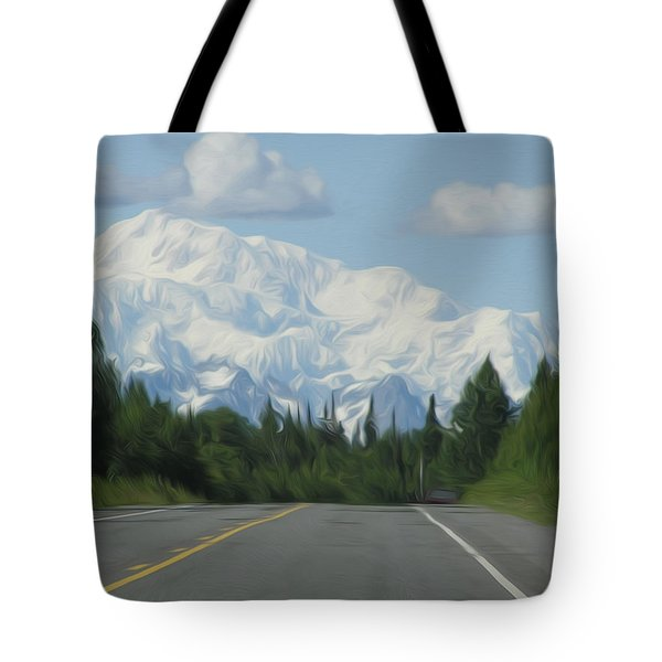 Mt. Mckinley Tote Bag by Jewels Blake Hamrick