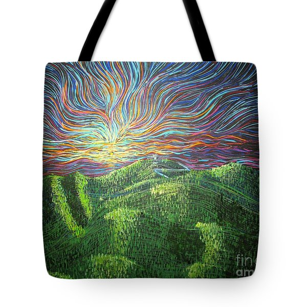 Mt. Mitchell  Tote Bag