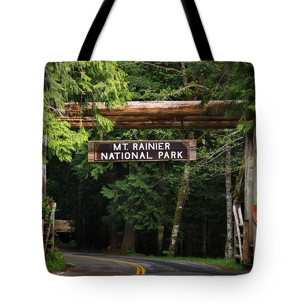 Mt Rainier Gateway Tote Bag