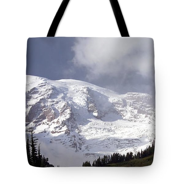 Tote Bag featuring the photograph Mt Rainier  by Greg Reed