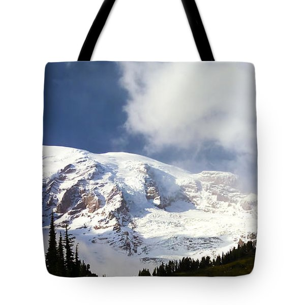 Mt Rainier II Tote Bag