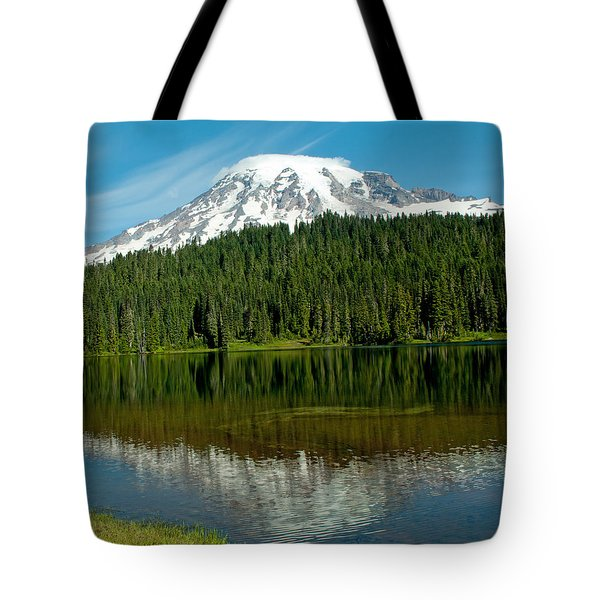 Tote Bag featuring the photograph Mt. Rainier II by Tikvah's Hope