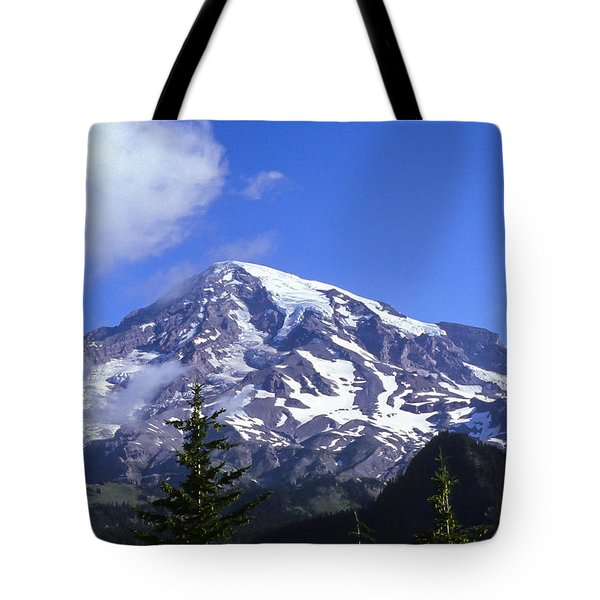 Mt. Rainier Tote Bag