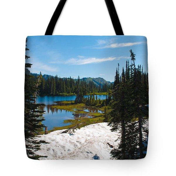 Tote Bag featuring the photograph Mt. Rainier Wilderness by Tikvah's Hope