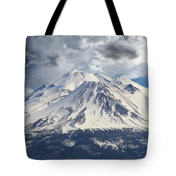 Tote Bag featuring the photograph Mt Shasta by Athala Carole Bruckner