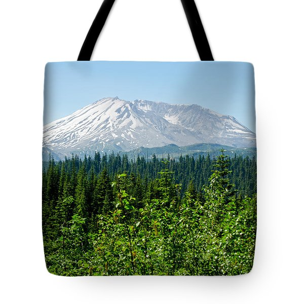 Mt. St. Hellens Tote Bag by Tikvah's Hope