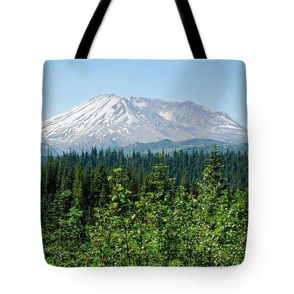 Mt. St. Hellens Tote Bag