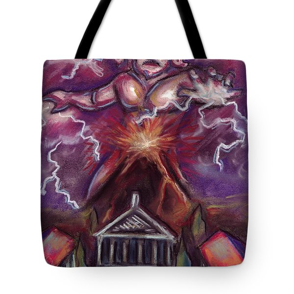 Mt. Vesuvius - Jupiter's Fury Tote Bag