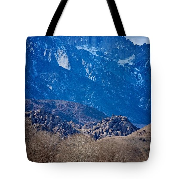 Mt. Whitney And Alabama Hills Tote Bag