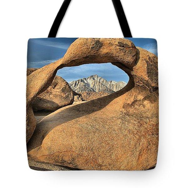 Mt Whitney Frame Tote Bag