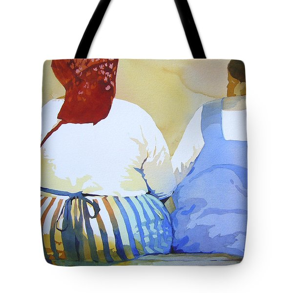 Muchachas Tote Bag by Kris Parins
