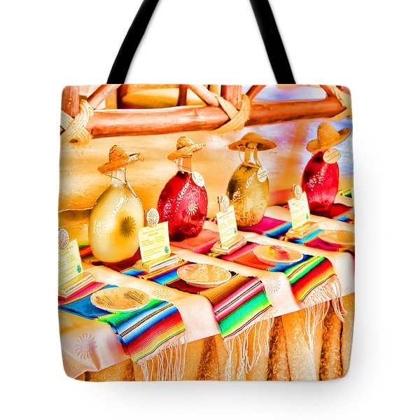 Tote Bag featuring the photograph Mucho Tequila by Teresa Zieba