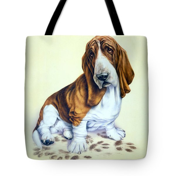 Mucky Pup Tote Bag by Andrew Farley