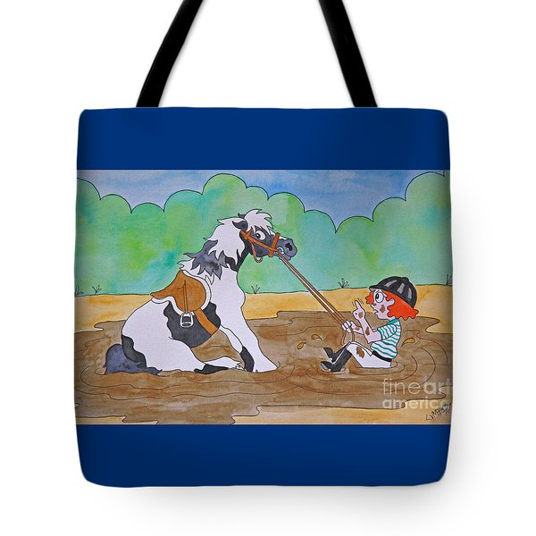 Mud Pony Tote Bag