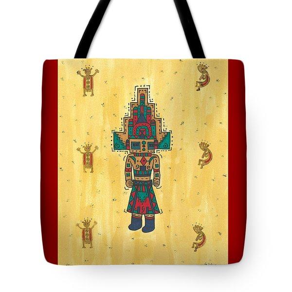 Mudhead Kachina Doll Tote Bag