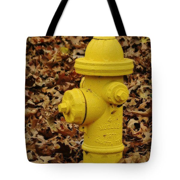 Mueller Fire Hydrant Tote Bag