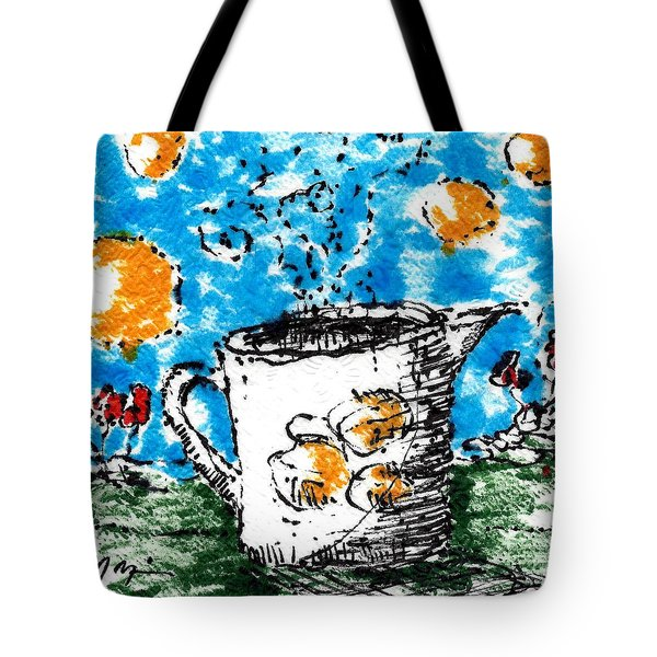 Mug Shot Tote Bag by Jason Nicholas