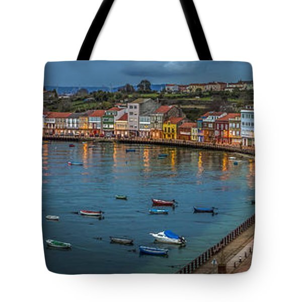 Mugardos Panorama Galicia Spain Tote Bag