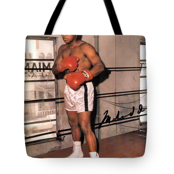 Muhammad Ali Tote Bag by Unknown