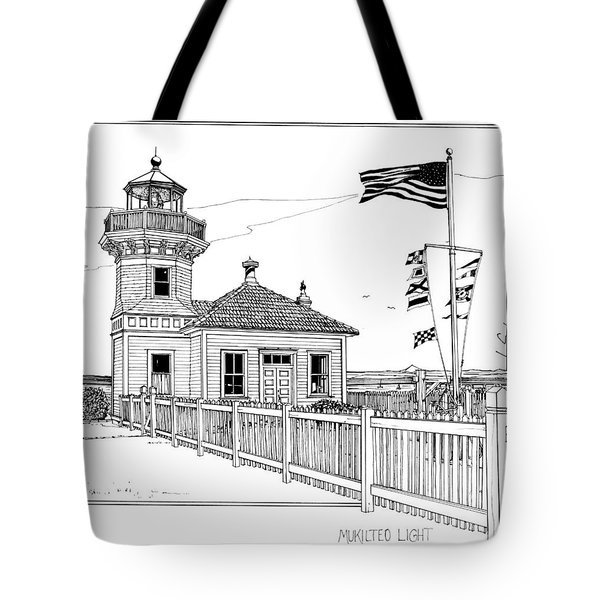 Mukilteo Light Tote Bag