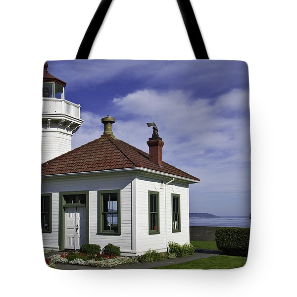 Mukilteo Lighthouse Tote Bag