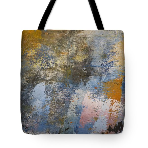 Mulberry On Concrete Tote Bag by Nola Lee Kelsey