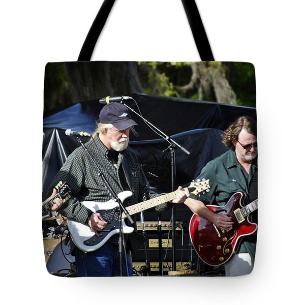 Mule And Widespread Panic - Wanee 2013 1 Tote Bag by Angela Murray