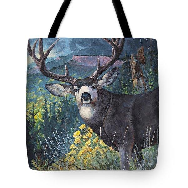 Mulie Storm Tote Bag