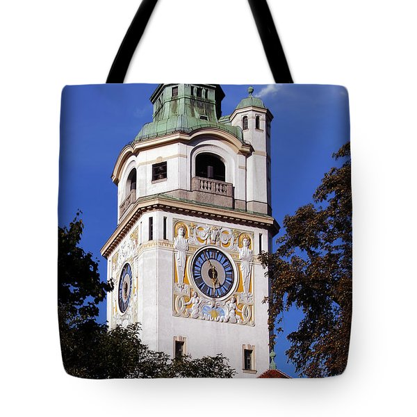 Mullersches Volksbad Munich Germany - A 19th Century Spa Tote Bag by Christine Till