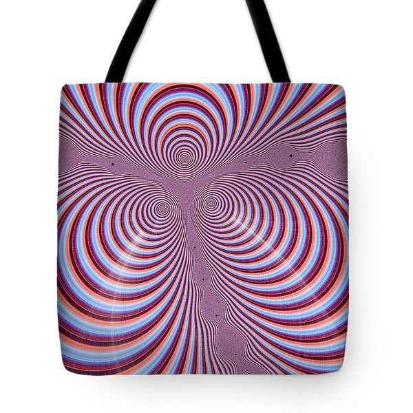 Multi-coloured Abstract Design Tote Bag by Paul Sale Vern Hoffman