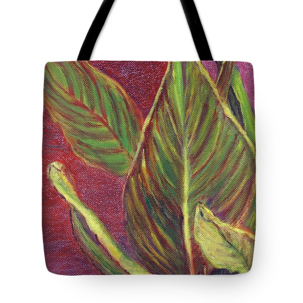 Multicolor Leaves Tote Bag