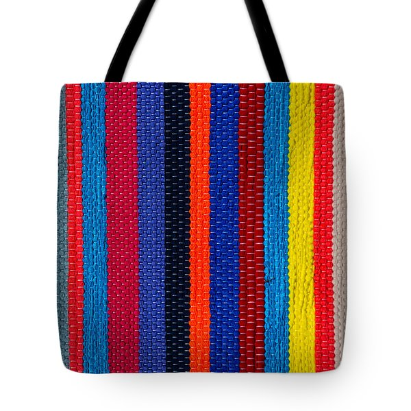 Tote Bag featuring the photograph Multicolor Vertical Line by Edgar Laureano