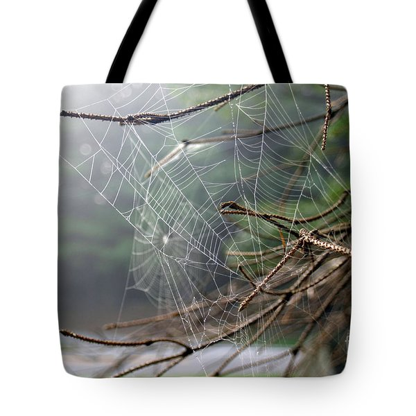 Multiple Webs - Near Tote Bag by Kenny Glotfelty