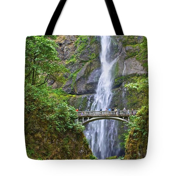 Multnomah Falls 4 Tote Bag