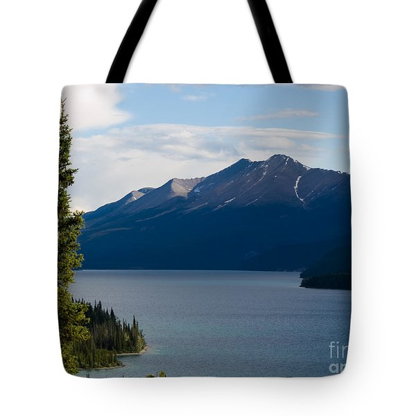 Muncho Lake Tote Bag