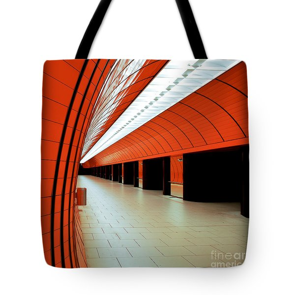 Munich Subway I Tote Bag by Hannes Cmarits