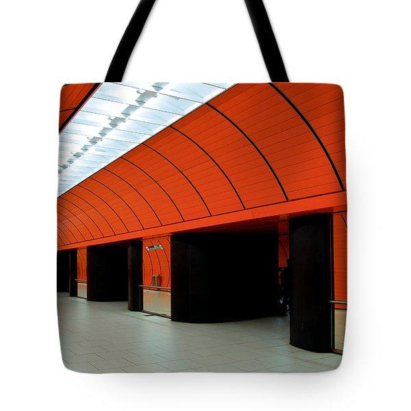 Munich Subway IIi Tote Bag by Hannes Cmarits