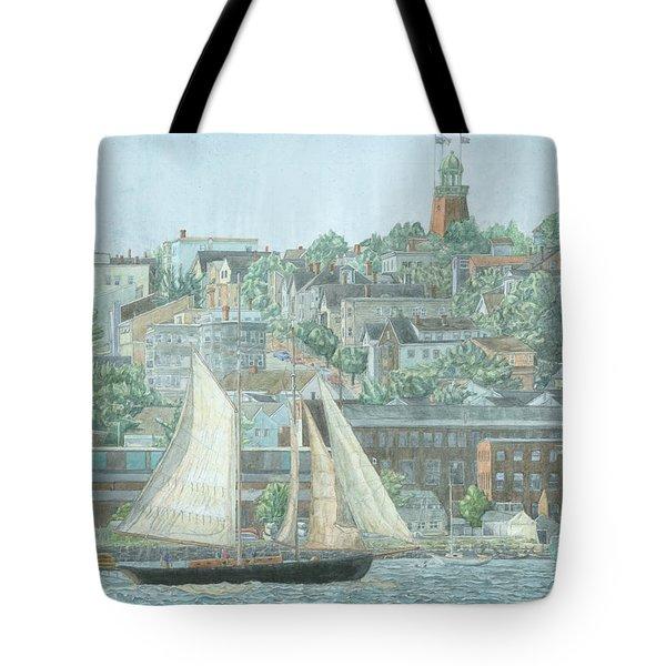 Munjoy Hill Tote Bag