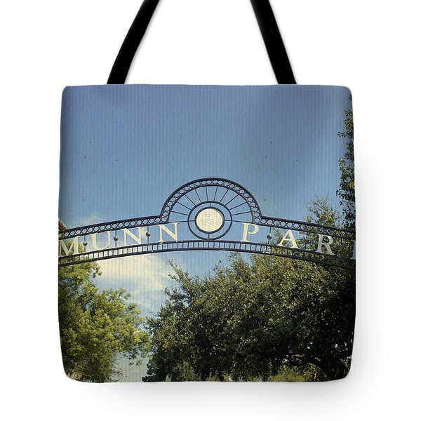 Munn Park Tote Bag by Laurie Perry