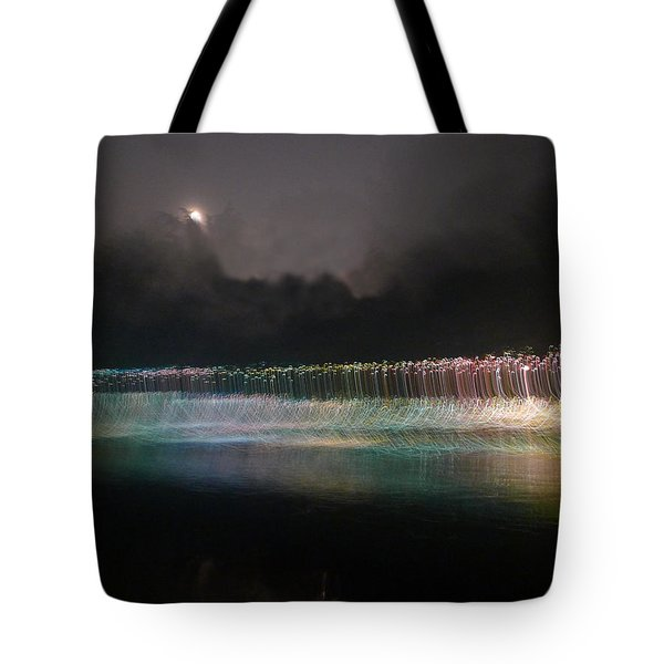 Munro River Reflections 4 Tote Bag by Richard Reeve