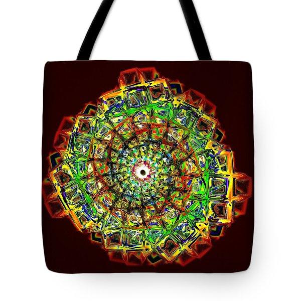 Murano Glass - Red Tote Bag by Anastasiya Malakhova