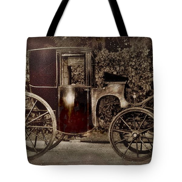 Murdoch Mysteries Carriage Tote Bag
