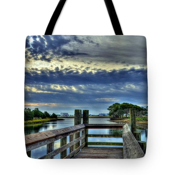 Murrells Inlet Morning 2 Tote Bag