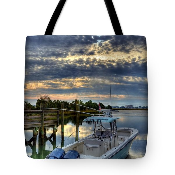 Murrells Inlet Morning 4 Tote Bag